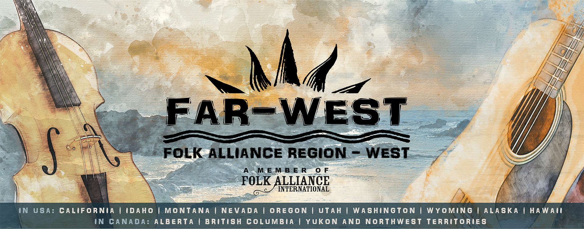 FAR-West's ongoing mission (since 2002) is to foster and promote traditional, contemporary and multicultural folk music, dance, storytelling and related performing arts in the North American West.  Our organization, open to artists, presenters and music supporters. welcomes a wide variety of styles, levels and disciplines, encouraging musical and cultural diversity and excellence. We are building a stronger folk community for all ages and we encourage you to join us as we share our performances, educational opportunities and more!